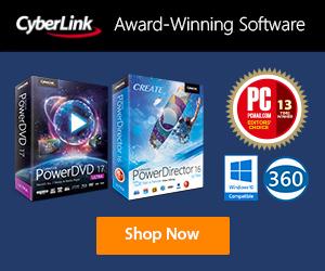 Cyberlink ürün sayfası