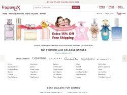 FragranceX Türkiye indirim kuponu screenshot
