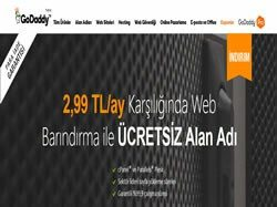 Godaddy indirim kuponu screenshot