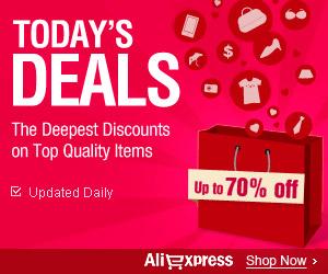 AliExpress by Alibaba.com indirim kuponu kodu