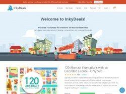 Inkydeals indirim kuponu screenshot