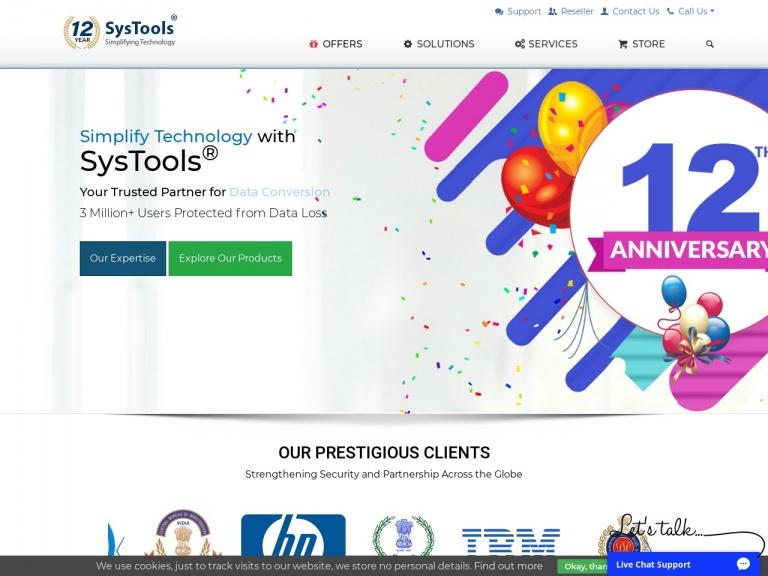 SysTools Software indirim kuponu screenshot